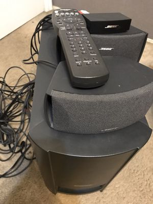 Bose Cinemate Acoustimass Module Speakers with Remote Working for Sale in Cypress, CA