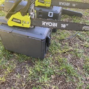Chainsaw Ryobi 14-16-18 for Sale in Miami, FL