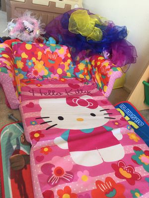 Hello kitty toddler couch for Sale in Golden, CO