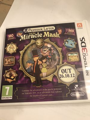 Professor Layton Miracle Mask 3DS Game for Sale in Monroe, WA