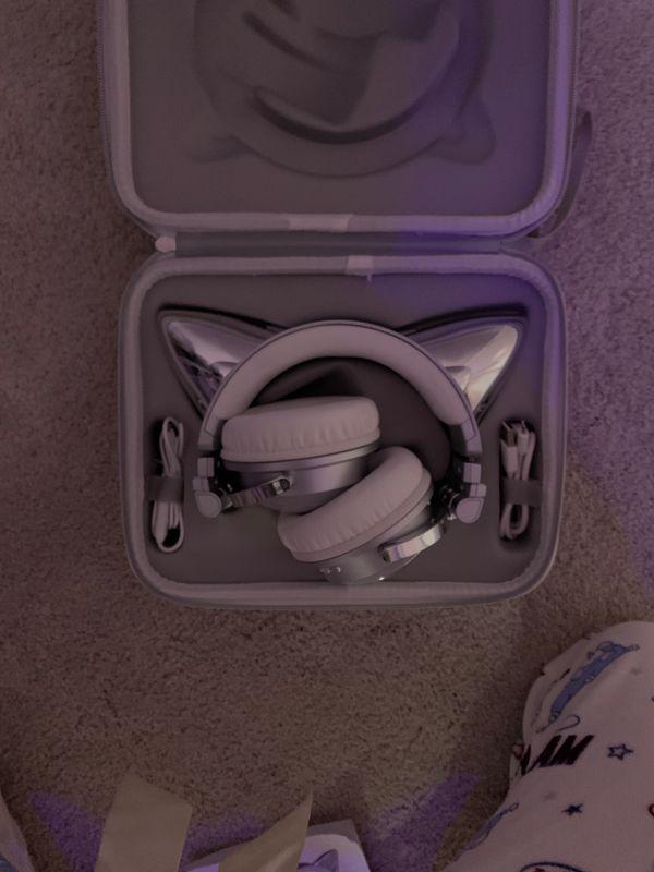 Bluetooth wireless Cat Ear Headphones