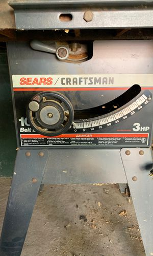 10 inch Table Saw for Sale in Redford Charter Township, MI