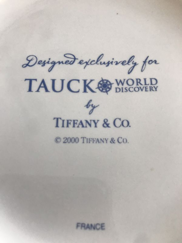 Authentic Tiffany's porcelain container from France