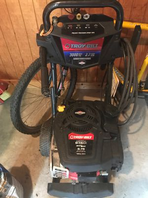 Troy Bilt power washer 3000 max msi, 2.7 max gpm for Sale in Columbus, OH