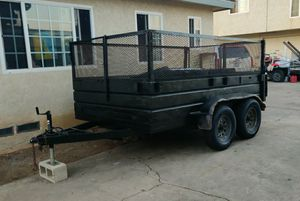 Dump trailer 8x12 for Sale in Chula Vista, CA