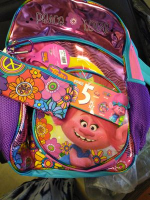 Trolls backpack for Sale in Victorville, CA