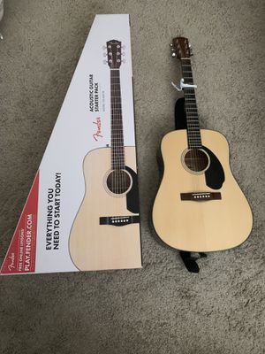 Fender Acoustic Guitar CD-60S Pk for Sale in Orange, CA