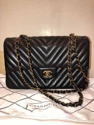 Chanel Handbag - Bag Quilted with Double Flap back AUTHENTICATION CARD ONLY NO HOLOGRAM for Sale in Irvine, CA