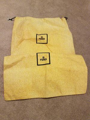 2 Fendi Dust Bags for Sale in Philadelphia, PA