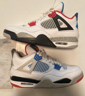 "Nike Air Jordan 4 Retro ""What The"" Men's Size 9 (CI1184-146) for Sale in Zachary, LA"
