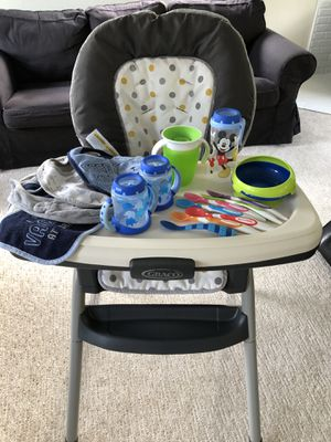 Graco Table2Table high chair with extras! for Sale in Brier, WA