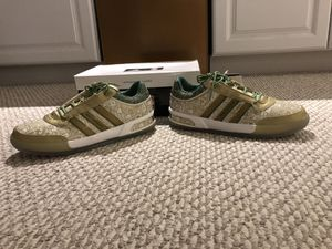 Red Auerbach limited edition Adidas sneakers for Sale in Norwood, MA