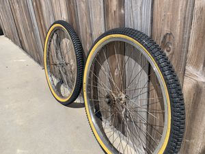 "26"" BMX wheelset Snake Belly Klunker Cruiser for Sale in Claremont, CA"