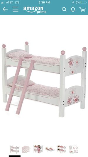 "Bunk Bed for 18"" Dolls (Fits American Girl Dolls) *New in Box, Unopened* for Sale in Miami, FL"