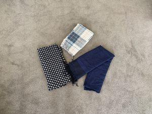 Three women's scarves (blue) for Sale in Seattle, WA