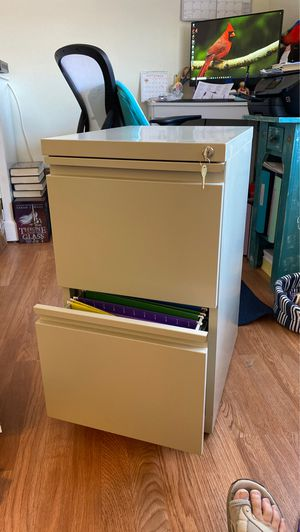 Staples Vertical Letter Size File Cabinet for Sale in Venice, FL