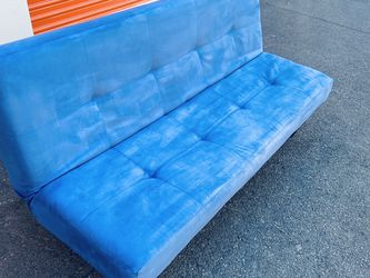FREE DELIVERY - Extremely Comfortable Blue Futon-Bed (Look My Profile For More Options) for Sale in Philadelphia,  PA