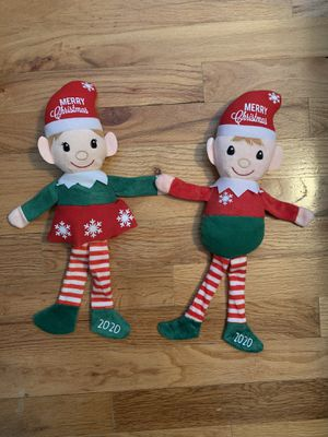Personalized Boy or Girl Christmas Elf Plush Doll for Sale in East Brunswick, NJ