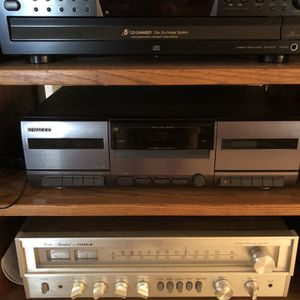 Stereo System - Receiver, CD, Casette, Speakers for Sale in San Diego, CA
