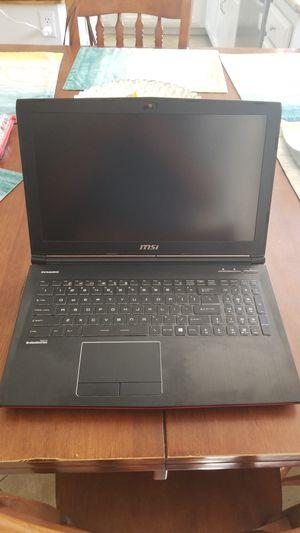 MSI gaming laptop I7 GTX 1060 for Sale in Corona, CA