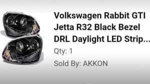 HEADLIGHTS - NEW - VW GTI - MK5 for Sale in San Diego, CA