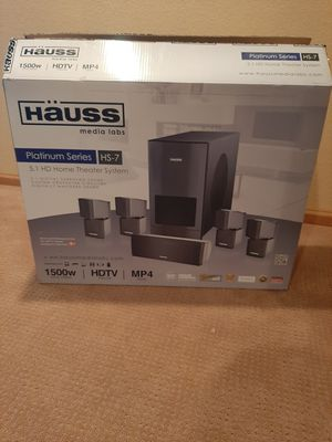 Hauss Home Theater System Surround Sound Speakers for Sale in Littleton, CO