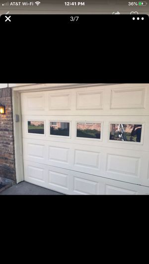 Used price garage door for Sale in Fort Worth, TX