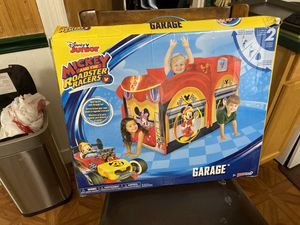 Disney Mickey Mouse Garage POP Up (Brand New) for Sale in Coventry, RI