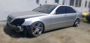 PARTING OUT: 2001 Mercedes S500 for Sale in Vallejo, CA