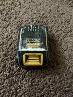 Dewalt 20v max battery for Sale in Adelphi, MD