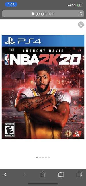 NBA 2k20 ps4 for Sale in Fort Myers, FL