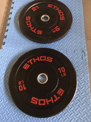 ETHOS Olympic Rubber Bumper weight Plate for Sale in Tumwater, WA