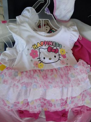 12 mos hello kitty outfit with tags for Sale in Lakeland, FL