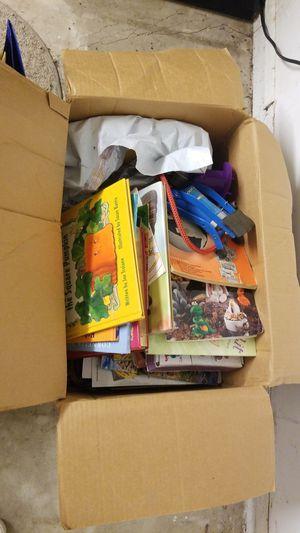 Box of books for Sale in San Antonio, TX