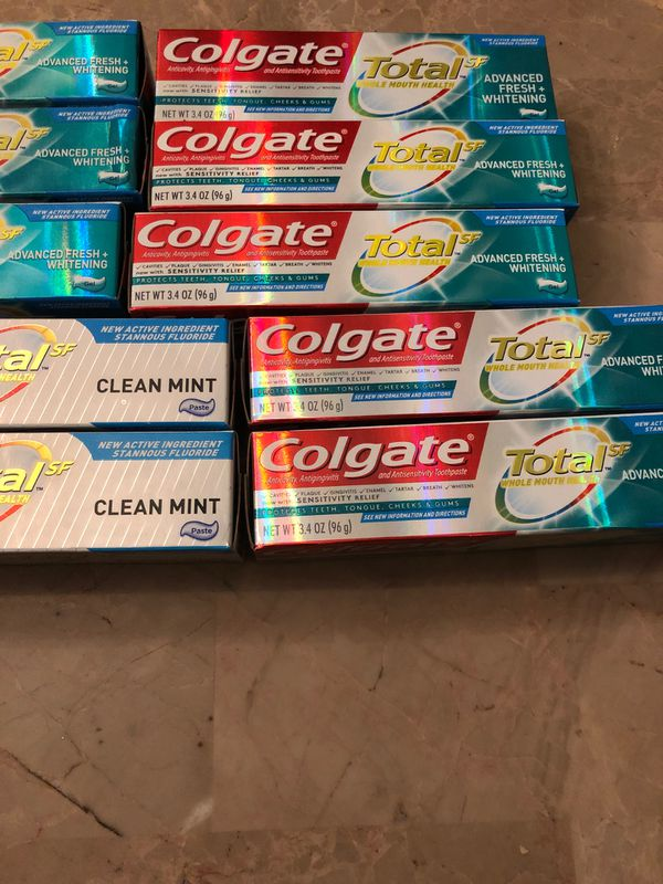 Brand New Get Ten tubs Of Colgate Toothpaste