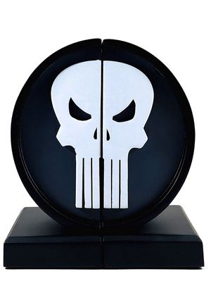 The Punisher Logo Statue Bookend Marvel Limited Edition Collectible 1 out of 3000 for Sale in Brooklyn, NY