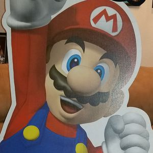 Lifesize stand up mario party decor for Sale in Sacramento, CA