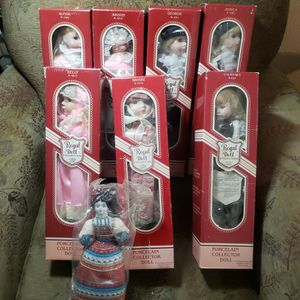 Vintage Regal Doll Collection With Authentic Paperwork Still In Original Packaging for Sale in Littleton, CO