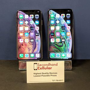 64GB Gold & Space Gray iPhone Xs Max Models available! *As little as $99 down! for Sale in Seminole, FL