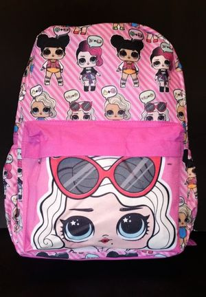 NEW! L.O.L SURPRISE Backpack For School/Traveling/Everyday Use/Gifts $18 for Sale in Carson, CA