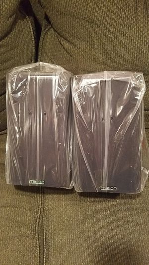 Pair MISSION 2 way Reflex 25-75W Speakers NEW for Sale in Old Bridge Township, NJ