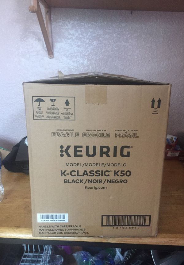 Keurig K50 coffee maker new never used