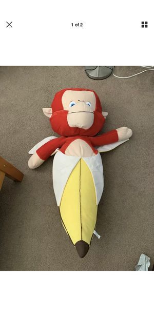Stuffed Red Monkey Banana 36 inch for Sale in Lake Elsinore, CA