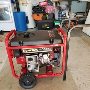 Generac 4000 XL generator portable for Sale in Carrollton, TX