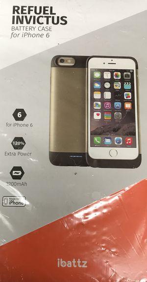 Refuel invictus battery case for iPhone 6 for Sale in Crozet, VA