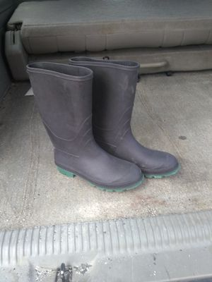 Lady's rubber boots size 9 for Sale in Denver, CO