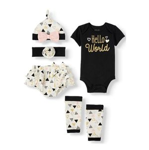New baby girl 5Pc set for Sale in Bluffdale, UT