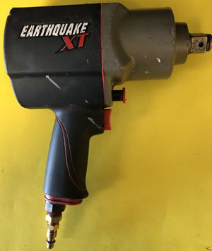 Earthquake XT 62892 - 3/4 In Composite Xtreme Torque Air Impact Wrench - GOOD CONDITION for Sale in Orlando, FL