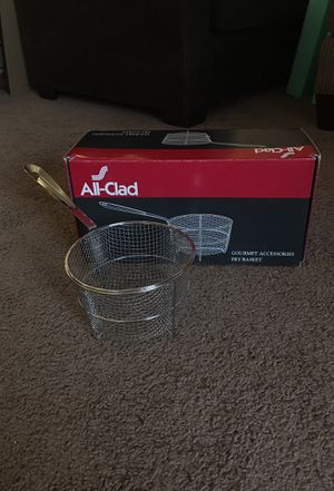 All Clad Fry Basket for Sale in Pittsburgh, PA