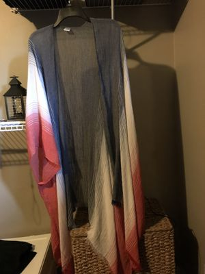New from Dress Barn XL, never worn $25 Shawl for Sale in Cleveland, OH